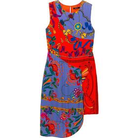 bbdc32319cac Desigual γυναικείo ασύμμετρο φόρεμα Τiwa - 19SWVWBL - Κόκκινο