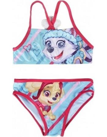 Παιδικό Μαγιό Μπικίνι Paw Patrol Γαλάζιο-Φούξια Χρώμα Nickelodeon 713fccb852f