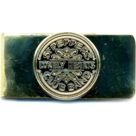 THE BEATLES MONEY CLIP  SGT PEPPER (BLACK GOLD) 40049f67aef