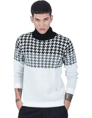7958d31f225e Διάφορα Ανδρικά Ρούχα μπλουζα ζιβαγκο ασπρη. μπλουζα ζιβαγκο ασπρη ·  BESILENT MAN μπλούζα ζιβάγκο BSMA0222 λευκή
