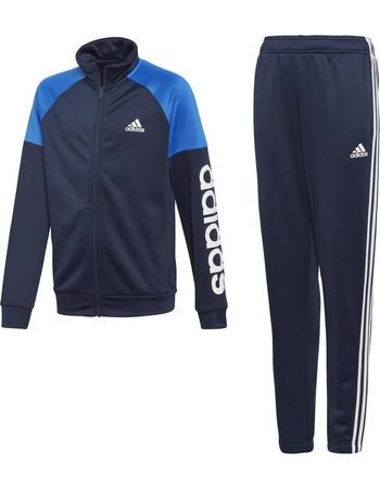 Adidas Linear Track Suit DI0180 Μπλε 1ed1b1e9a6e
