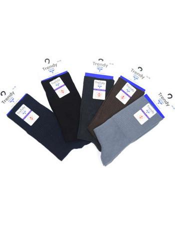 Κάλτσα ανδρική χωρίς λάστιχο βαμβακερή Trendy Νο43-46 f04648f7130