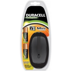 Φορτιστής Mini Duracell & 2 AA Batteries 1700mAh (CEF20EU)