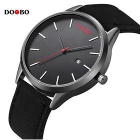 Ρολόι δερμάτινο ανδρικό - DOOBO D004 Μαύρο 467e98181ff