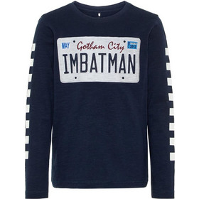 17ef47444a86 Name it Kids Logng-Sleeved Batman T-shirt 13160936