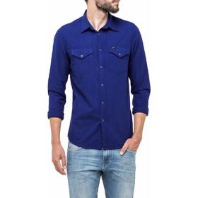 8607def24d3 Ανδρικά Πουκάμισα Lee Πουκάμισο Western Shirt Mens Shirts Μπλέ L644EM01