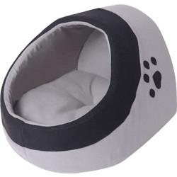 96e3765386ab vidaXL Κρεβάτι Γάτας Γκρι και Μαύρο M