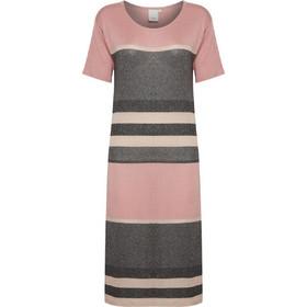 a45b75c1cdc6 Φόρεμα maxi ριγέ με κοντό μανίκι Ichi (MARVA-DR)