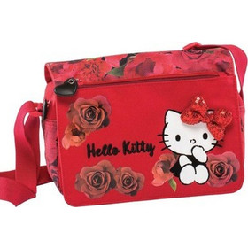 773684a997 Hello Kitty Red 178851 τσαντάκι ώμου με καπάκι