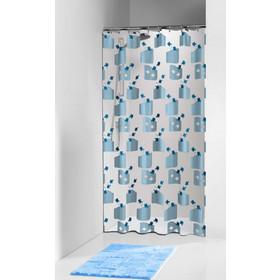 Κουρτίνα Μπάνιου Πλαστική Tropic Blue Sealskin 180x200εκ. - sealskin -  66212571324 22699be5f13