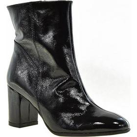Ragazza γυναικεία μποτάκια 653 μαύρο λουστρίνι δέρμα c85cf07be58