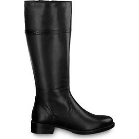 551c448a328 Tamaris 1-25547-21 Μαύρες Γυναικείες Μπότες Tamaris 1-25547-21 001