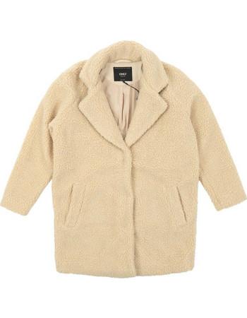Only Aurelia OversizedShearling Coat 15158218 Μπεζ 337b9df8a91