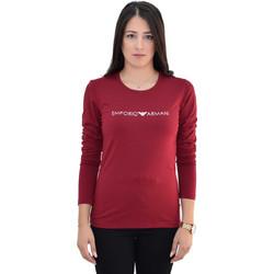 f72a1fadd1ff T-shirt Basic Emporio Armani EA7 1632298A317 - μπορντό