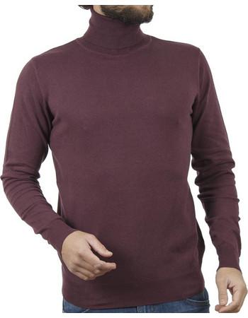6e181c28b293 Ανδρικό Ζιβάγκο Πλεκτή Μπλούζα SMART +amp CO 40-206-020 Wine Red