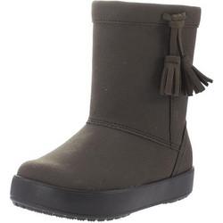 Kids LodgePoint Boot Crocs 0430f7057dd