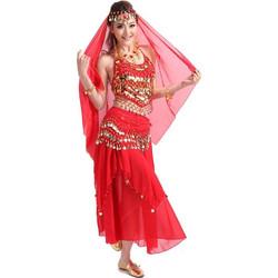 c111a6ac445 Γυναικεία Oriental με φούστα Στολή χορού L32 7732