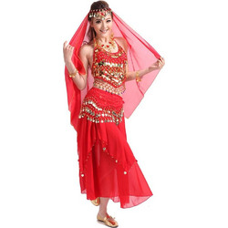 be2912a11aa Γυναικεία Oriental με φούστα Στολή χορού L32 7732