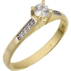 Δαχτυλίδι χρυσό με swarovski πέτρες Κ14 025520 025520 Χρυσός 14 Καράτια 83f4310a518