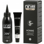 Nirvel Professional Home Hair Coloring Cream G7 Ανοιχτό Γκρι 30ml