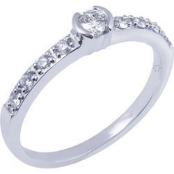 Μονόπετρο Δαχτυλίδι 18κ Λευκόχρυσο Με Διαμάντι b1d9ceabaf2