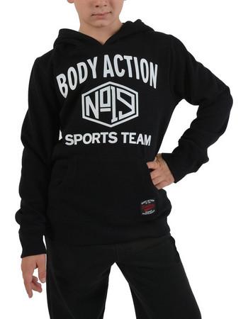 Body Action Basic Hoodie - Παιδικό Φούτερ για Αγόρι 064801 2fe06d29ddd