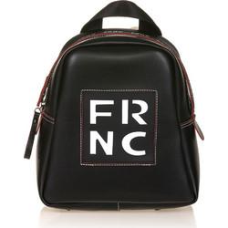 5f180db84e FRNC FRANCESCO Τσάντα Γυναικεία Πλάτης-Backpack 1201 Μαύρο Δέρμα frnc 1201  mauro derma