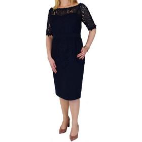 57c46879598 Φόρεμα Μίντι Με Δαντέλα Forel 545020 Μπλε forel 545020 mple