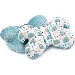 491d9fe5235 Μαξιλάρι στήριξης για τον αυχένα & το κεφάλι του μωρού της sensillo mint  Sensillo