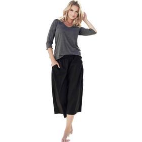 e056839db579 Βαμβακερό σύνολο σκούρο γκρι μπλούζα με μαύρη παντελόνα Jadea 3043