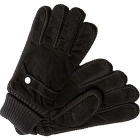 Ανδρικά δερμάτινα γάντια Verde 02-0000462 σε μαύρο χρώμα XXXL 7f48951f33f