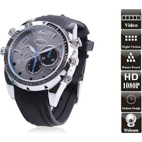 Κρυφή Κάμερα - Ρολόι Χειρός Full HD 1080p 8GB - Spy Cam Night Vision Watch  W5000 6649fabf28e