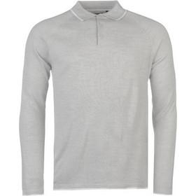 652c77354916 Pierre Cardin Ανδρική Πλεκτή Μπλούζα Polo με Μακρύ Μανίκι