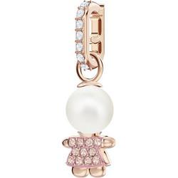 9a37490fbcb Swarovski Swarovski Remix Collection Girl Charm, Pink, Rose gold plating  5468570 Επιχρυσωμένο με ροζ