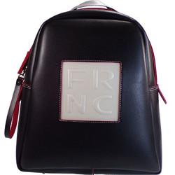 84804ed5f7 FRNC FRANCESCO Τσάντα Γυναικεία Πλάτης-Backpack 1202 Μαύρο Δέρμα frnc 1202  mauro derma