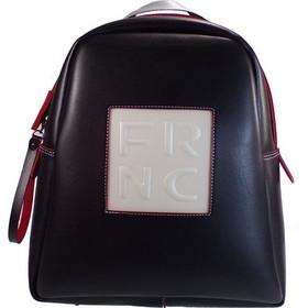 e29b9a0439 Backpack 1202 Μαύρο Δέρμα frnc 1202 mauro derma