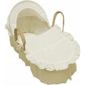 ad09279119c Cuddles Collection Χειροποίητη Ψάθινη Καλαθούνα - Cream (CCU10456)