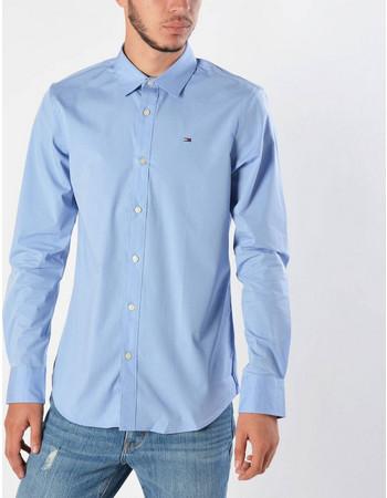 49d92f80f86a Tommy Jeans Original Strech Men s Shirt - Ανδρικό Πουκάμισο DM0DM04405-556