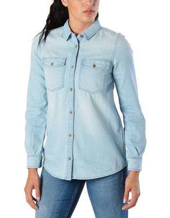d6f20260ccbb Tommy Hilfiger Women s Denim Shirt DW0DW04186-911