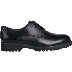 Tamaris oxford 1-1-23725-21 003 black leather μαύρο d5c40b3fe5d