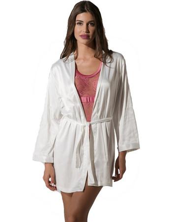 Luna Prestige Dressing Gown Ρόμπα Ιβουάρ 11b6633ae5c