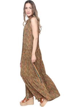 6f62d854ae Φόρεμα Gypsy Σε Πράσινο