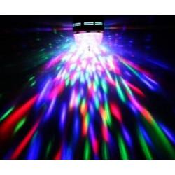 Φωτορυθμική λάμπα LED βιδωτή Ε 27 για disco πάρτυ disco ball led f448efb1014