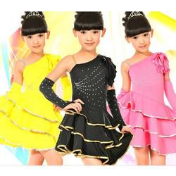 6d4b655d2b9 Παιδική Latin Στολή χορού L01 7701