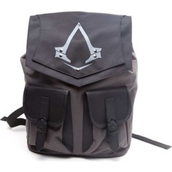 dcdcde3ce119 ASSASSIN S CREED SYNDICATE - DOUBLE FRONT POCKETS BLACK BACKPACK  (BP051335ACS) ACC