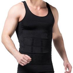 Ανδρική φανέλα σύσφιξης κοιλιάς για λεπτότερη σιλουέτα - Slim N Lift - Μαύρο 37cc4826fd4