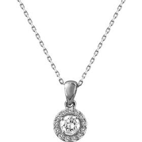 Μενταγιόν Mε Διαμάντια Brilliant Από Λευκόχρυσο Κ18 P6919 6fb697bdf00