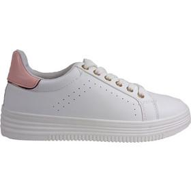 02af010c274 Bagiota Shoes Γυναικεία Παπούτσια Sneakers Αθλητικά ML-4303 Άσπρο-Ροζ 45618