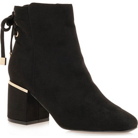 918c05bf874 Exe Shoes Γυναικεία Παπούτσια Μποτάκια 829-MELANIA-928 Μαύρo Καστόρι  H3700829497T05 exe shoes 829
