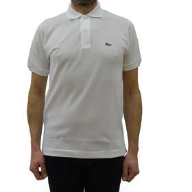 76643ec3d335 ανδρικες μπλουζες πολο κοντομανικες λευκες Lacoste · LACOSTE L1212 POLO  CLASSIC FIT IN PETIT PIQUE WHITE